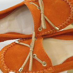 Comfort Colorful! #shoestock #verao2015 #colorful #laranja #mocassim - Ref 25.03.0068