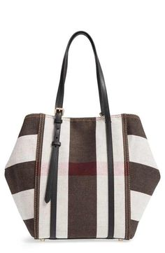 Burberry Medium Padstow Check Tote