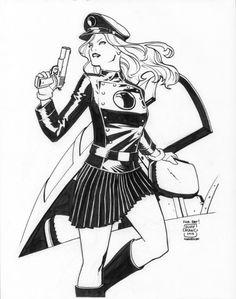 Lady Blackhawk by Cliff Chiang