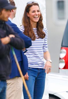 We loved Kate Middleton's striped top so much, we found out EXACTLY where to get one of your own!
