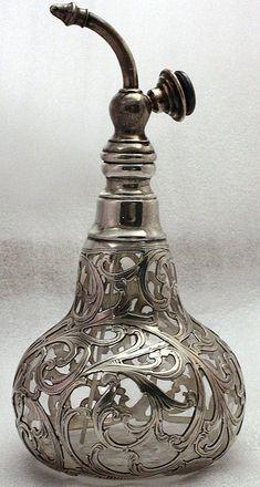 Alvin Silver  Botella de Perfume de Atomizador