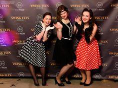 lady in black: SWING PLES #swing #swingball #themeball #retro #vintagestyle #retrostyle #polkadotdress #swingstyle #swingparty #swing #dress #code