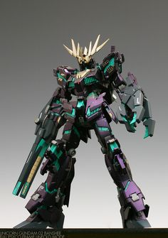 HGUC 1/144 Unicorn Gundam 02 Banshee (NT-D Mode) - Customized Build Modeled by about75