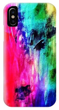Luxe Splash IPhone Case for Sale by Rachel Maynard Mixed Media Artwork, Basic Colors, Doodle Art, Color Show, Colorful Backgrounds, Iphone Cases, Canvas Prints, Photography, Image