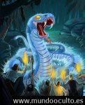 Serpientes de la mitología amazónica.