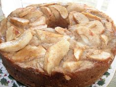Sugar-free Apple Cake, 6 pts