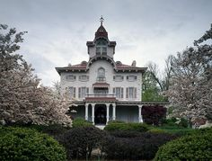 Ryerss Victorian Mansion in Burholme Park in the Fox Chase neighborhood of Philadelphia, Pennsylvania