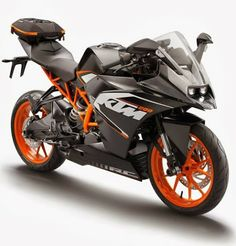 2014 KTM it's official I'm saving up for this. Forget the ninja KTM is my dream bike even before Ducati. Wish it comes in white Ktm Rc 200, Ktm 125, Ktm Duke, Ktm Bike Price, Ktm Models, 125cc, Ktm Motorcycles, Bike Prices, Supersport