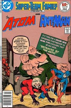 Super-Team Family: The Lost Issues!: The Atom and Ant-Man