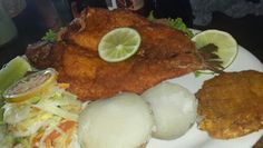 """Trucha"" Tipical Food in #Guatape #Antioquia"