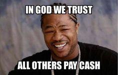 In God We Trust #jerseyclippers #barbershop #jerseycity #jerseycitynj #jersey #cash #barbershopplug #barbershopconnect #barbershopconnect #nationalbarbersassociation #officialbarberclub #nyc #newyork #neeyorkcity #stayfresh #staysharp