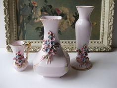Vintage+Handpainted+Lefton+China+Pink+Floral+by+jenscloset+on+Etsy,+$16.50