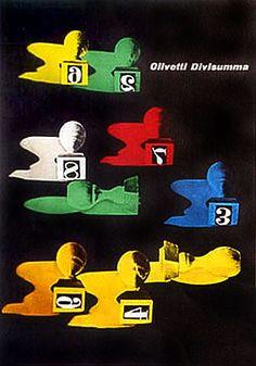 Olivetti Divisumma, the first four-function calculator.