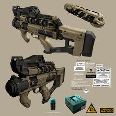 21358 - Deus Ex: Human Revolution: Weapon designs