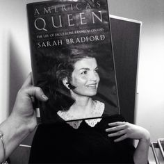 Today's #bookfacefriday is in honour of #JackieKennedy who died 22 years ago on this day💐