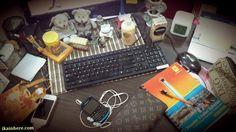 My office desk...
