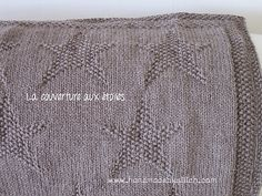 Ravelry: Star blanket pattern by Aurélie Chauvel. Free