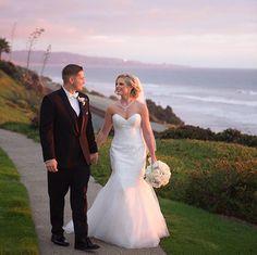 Walking on a dream on this #WeddingWednesday ✨ #LaubergeDelMarWeddings @tatianamphotography