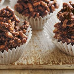 Learn how to make chocolate crackles with this easy recipe from Donna Hay! This childhood favourite is the best chocolate snack for kids.
