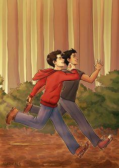 Teen Wolf - Stiles Stilinski x Scott McCall - Sciles