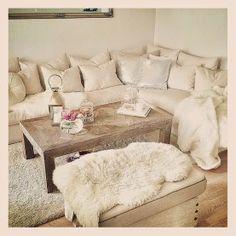 Uma sala para ninguém colocar defeito! :) #sala #decor #inspiração #inverno