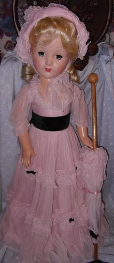 "Effanbee factory Orig. Honey (Southern belle) 27"" Composition Doll - Near Mint"