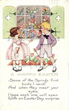 Vintage Postcards :: Happy Easter to You!