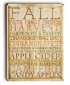 Another great find on #zulily! Fall Art Wood Wall Art by ArteHouse #zulilyfinds