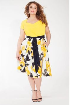 Plus Size Dress In Sundance Curvy Women Outfits Summer