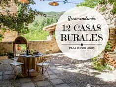 12 casas rurales para ir con niños en españa Holidays With Kids, Spain Travel, Travel With Kids, Outdoor Activities, Patio, Places, Outdoor Decor, Koh Tao, Popular
