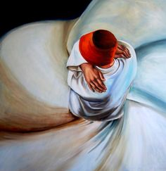 Sufi, a Oil on Canvas by Derya Var from Turkey
