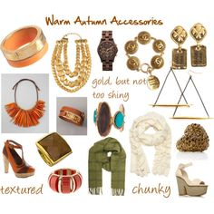 """Warm Autumn Accessories"" by jjeanine on Polyvore"
