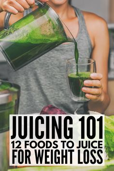 The ultimate guide to juicing for beginners: Check out our best recipes and tips so you can detox with juicing and step up your weightloss game! Whether you're looking to detox as part of your weight loss efforts, or just need ideas to help you concoct your own juicing recipes, we've got 12 healthy food ideas to help you get started today! #juicing #weightloss #detox #cleanse #diet