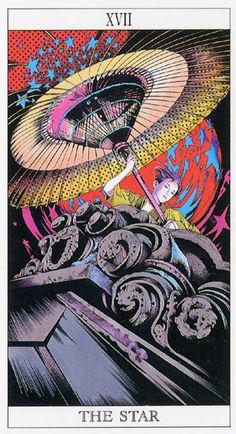 Love and Mystery Tarot by Yoshitaka Amano: The Star