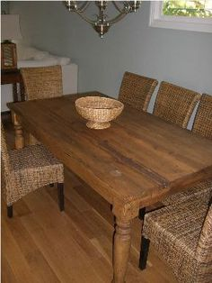 Handcrafted Dining Table Dinning Room Tables And Chairs Set A