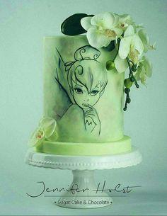 Amazing Tinker Belle cake