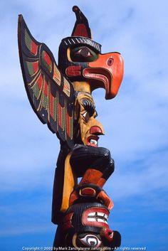 Totem, located in Victoria, BC Native American Totem Poles, Native American Art, Native Indian, Native Art, British Columbia, Rocky Mountains, Le Totem, Victoria Vancouver Island, Alaska