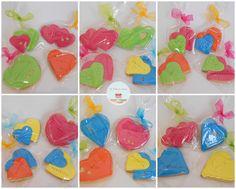 Color Hearts Cookies