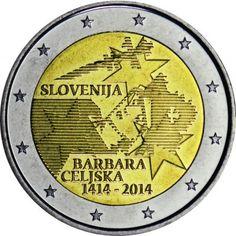 2 Euro CuNi Barbara von Cilli UN