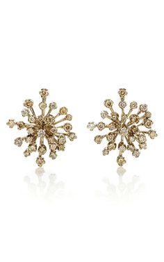 H.Stern Snow Flake Earrings Ear Jewelry, Unique Jewelry, Gold Jewelry, Women 376cc318703d