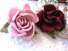Crochet Flower free pattern.