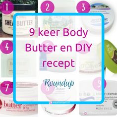 9 keer Body Butter en DIY recept