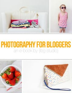 "Whether you need better product shots for your blog/shop, want to show off your latest recipe, or want those ""wow"" photos of your kids in the outfits you made for your next blog post"
