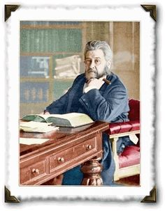 I love finding a picture of one of my heroes studying his Bible while puffing on a finely wrapped cigar.  C. H. Spurgeon knew how to relax!