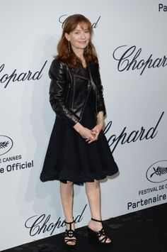 Cannes Party: Isabelle Huppert
