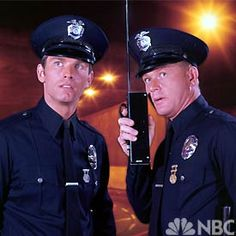 """""""Adam-12""""  TV Police series starred Kent McCord and Martin Milner from 1968-1975"""
