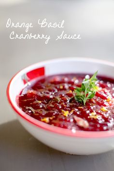 THE BEST cranberry sauce I've EVER had!