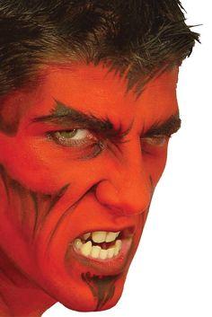 theatrical effect devil stack makeup ez mu kit lets make a deal - Devil Halloween Makeup Ideas