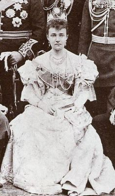 Duchess of Connaught, wife of Queen Victoria's third son, seventh child Prince Arthur