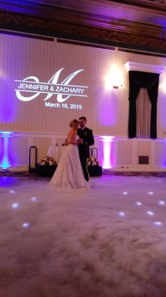 Dancing On A Cloud and monogram at Gettysburg Hotel
